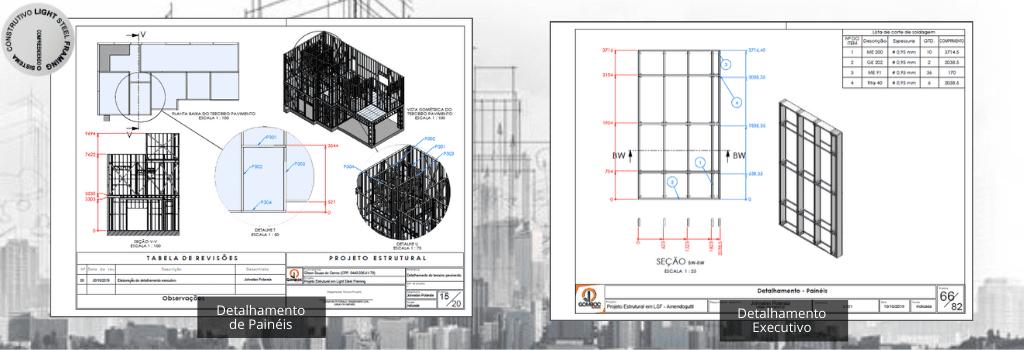 Detalhamento Técnico em Light Steel Framing