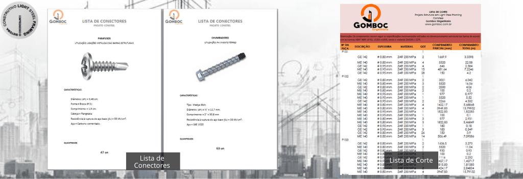 Quantitativo de Materiais em Light Steel Framing