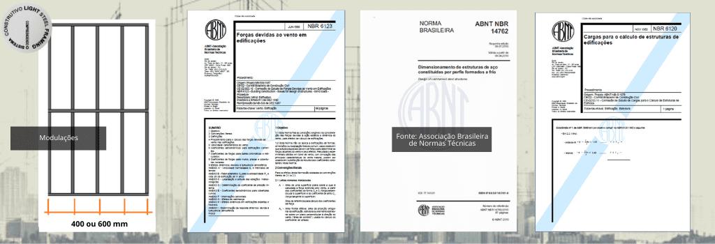 Modulação e Normas Elementares utilizadas no Sistema Construtivo Light Steel Framing