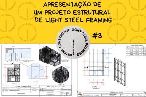 Apresentação de um Projeto Estrutural de Light Steel Framing #3